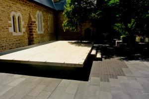 Wall Cladding and Stone floor - Aurora Stone