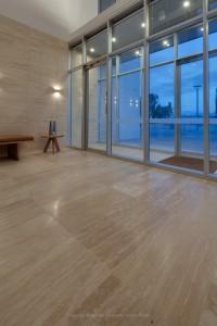 Tiled Hallway - Aurora Stone