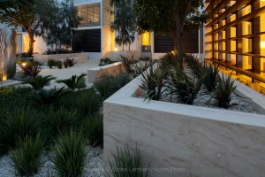 Marble Plant Box - Aurora Stone