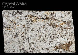 Crystal White Granite - Aurora Stone
