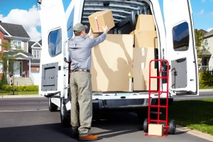 Delivery truck - Aurora Stone