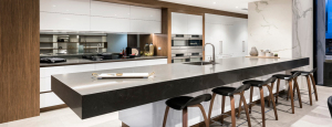 Natural Stone Benchtop with Sink - Aurora Stone