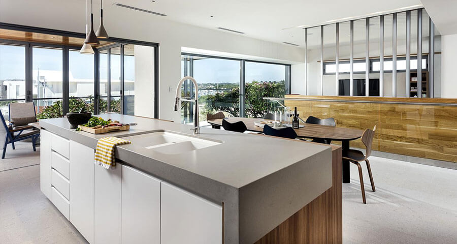Kitchen Countertop by Aurora Stone