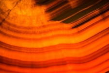 Peach Backlit Onyx-Aurora Stone